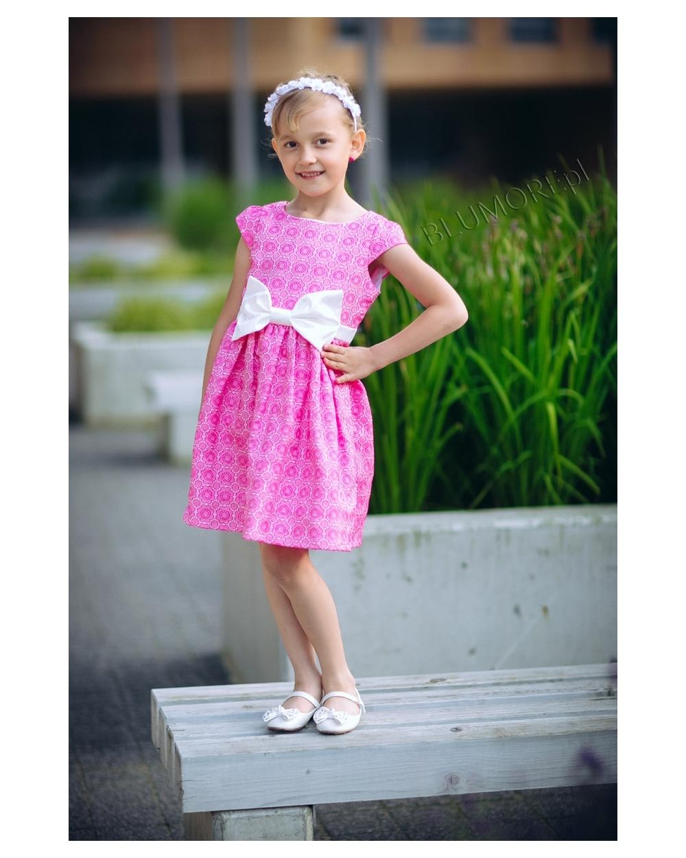 5dbf08e9a0 Śliczna sukienka na wesele dla dziewczynki 74 - 158 Laura