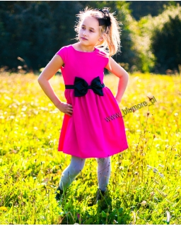 Sukienka na wesele dla dziewczynki 74 - 152 Ksenia fuksja