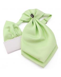 Musznik dla chłopca z wypustką do kieszonki - zielony