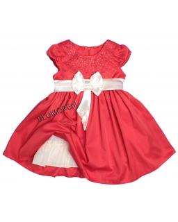 Piękna sukieneczka na wesele - hit 98 - 128 Arielka