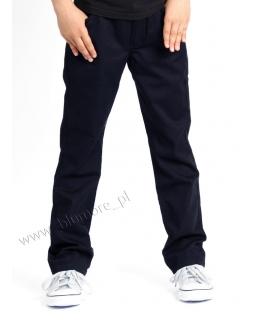 Spodnie dla chłopca modny fason 104 - 170 Alek granat