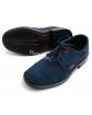 Wizytowe zamszowe buty chłopięce 26 - 39 Kacper granat
