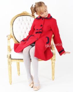 Ekskluzywny płaszcz zimowy 86 - 140 Virginia czerwony