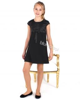 Piękna wizytowa sukienka dla dziewczynki 116 - 152 Gala czarna