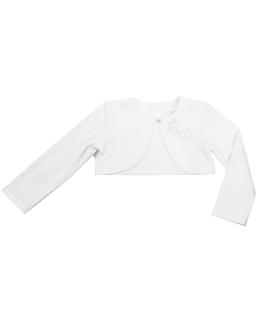 Bolerko w modnym fasonie 86-152 Simonetta biały