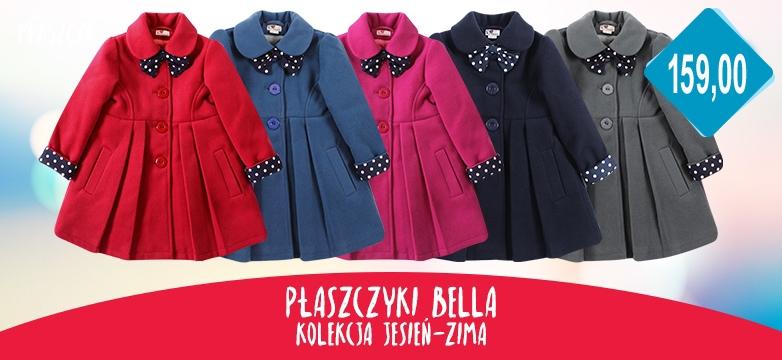 płaszcz dla dziewczynek