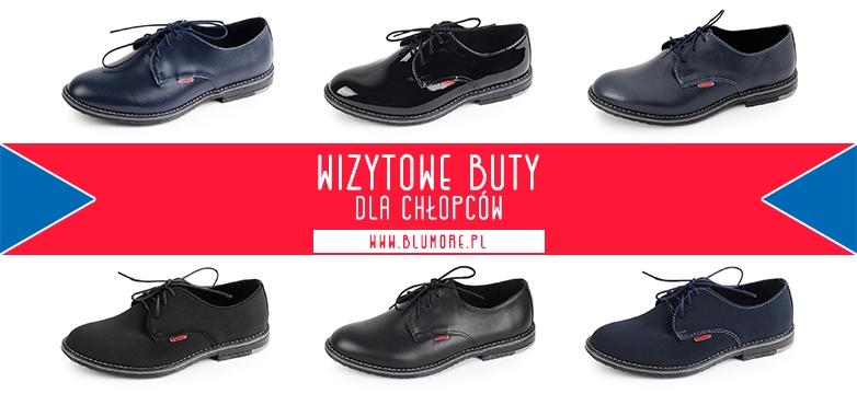 Wizytowe buty chłopięce — zamów teraz!