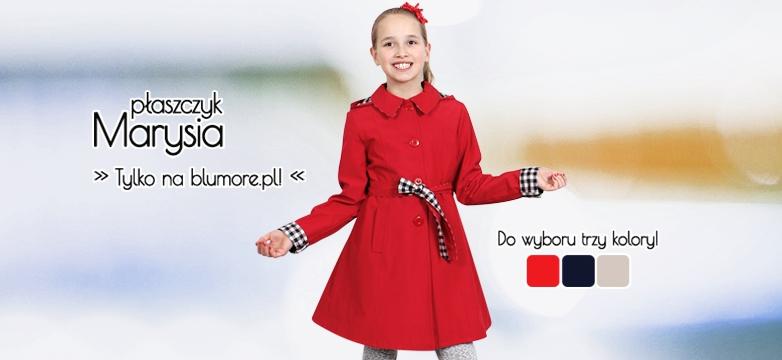 Płaszczyki Marysia — trzy kolory do wyboru!