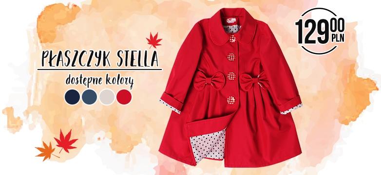 Płaszczyki Stella — MUST HAVE jesieni!