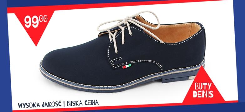 Buty Denis — wysoka jakość, niska cena!