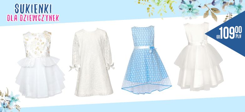 Modne sukienki dla dziewczynek — sprawdź!