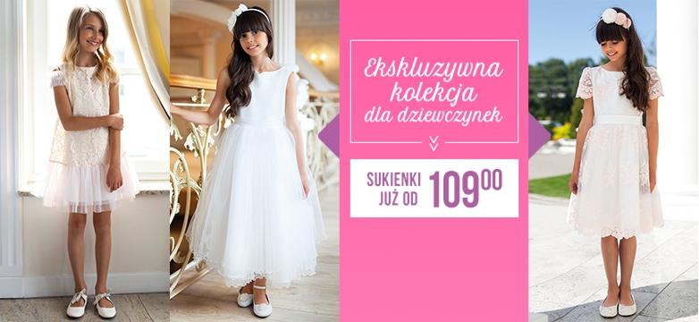 Ekskluzywna kolekcja sukienek dla dziewczynek — sprawdź!