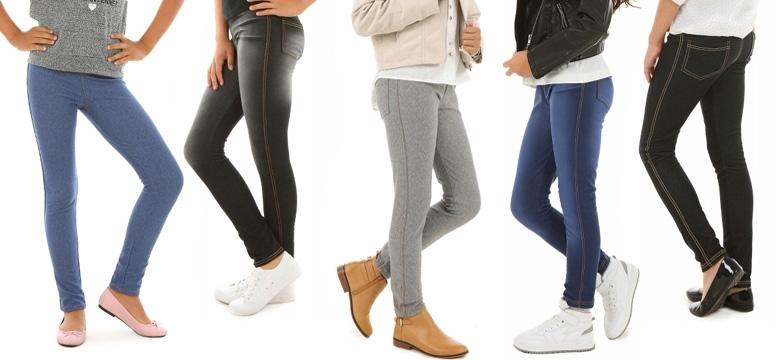 Legginsy dla dziewczynek, wygodne spodnie, sklep, darmowa dostawa