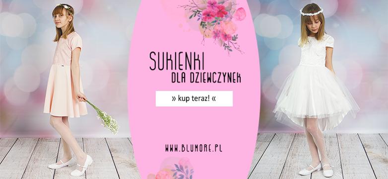 Piękne sukienki dla dziewczynek — kup teraz!