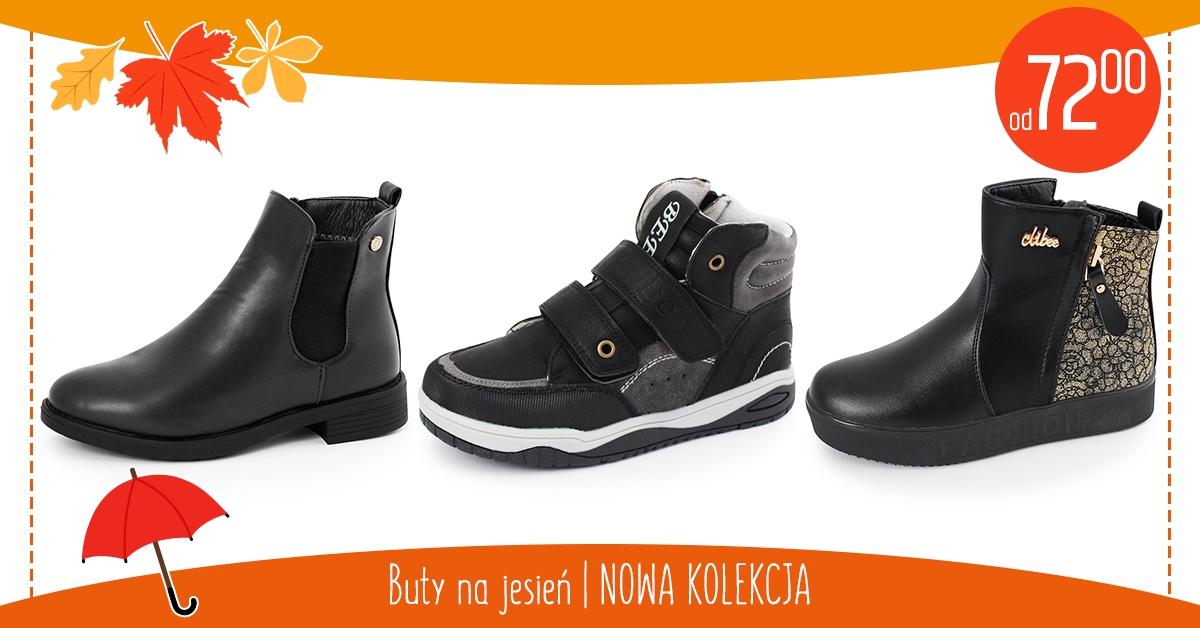 Buty na jesień — nowa kolekcja!
