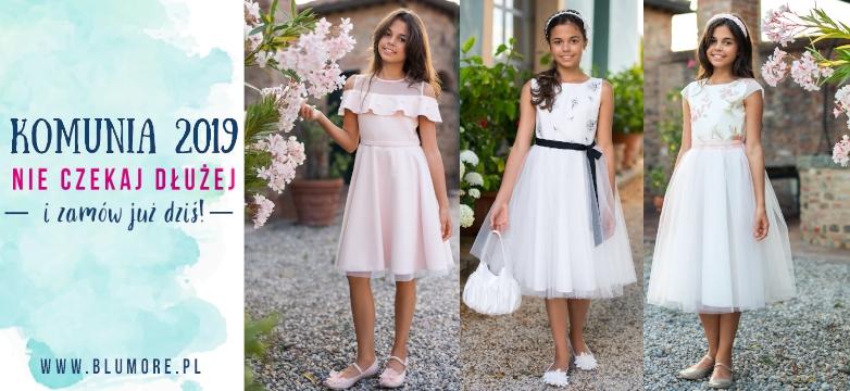 Sukienki pokomunijne dla dziewczynek, suknie po komunii, na przebranie, białe, ecru
